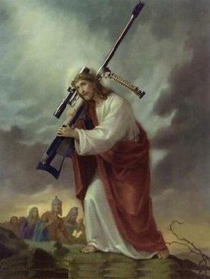 Jesus with a gun