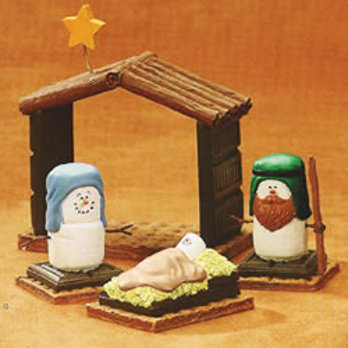 marshmallow nativity