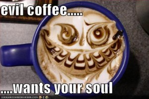 evil coffee