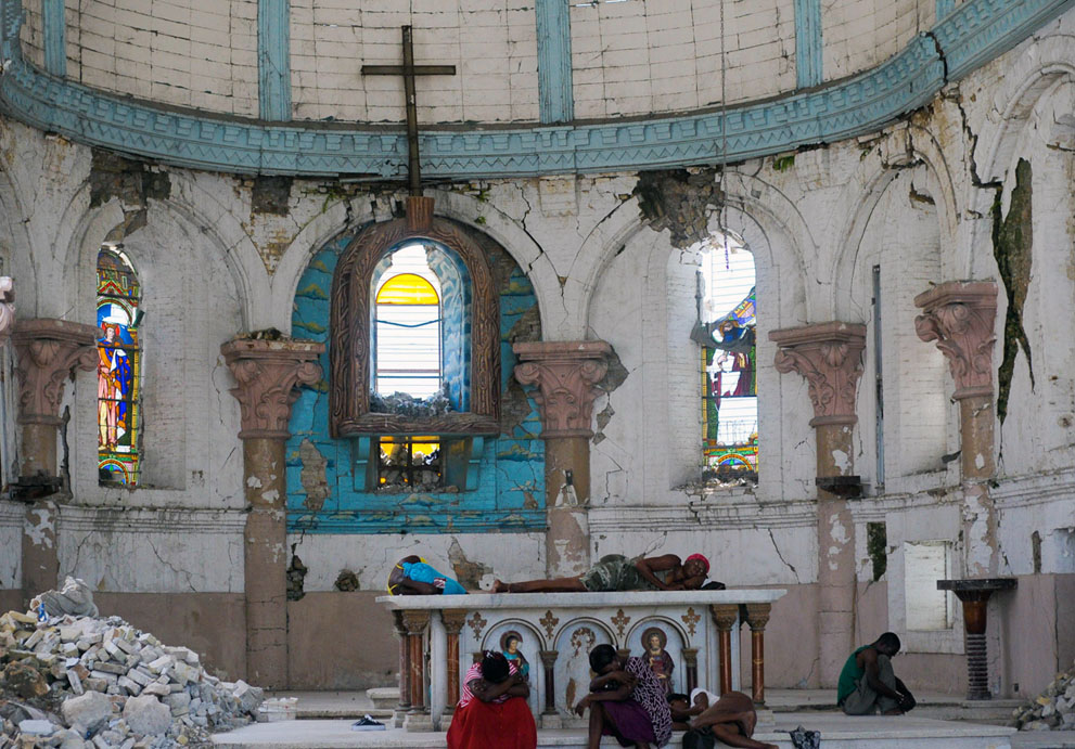 Suffering in Haitian church