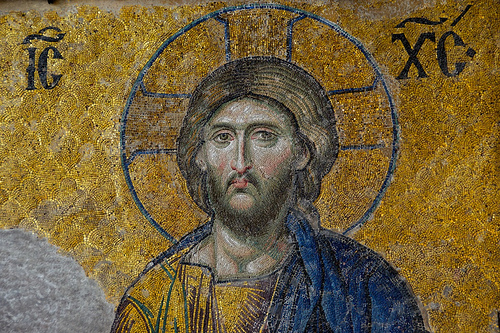 Christ mosaic
