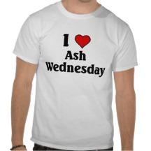 I love Ash Wednesday