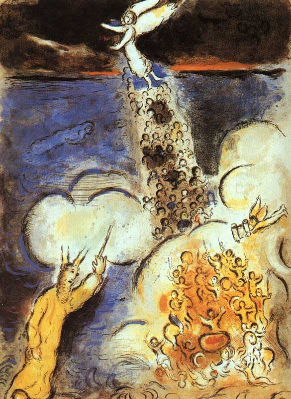CHAGALL PARTING OF THE RED SEA