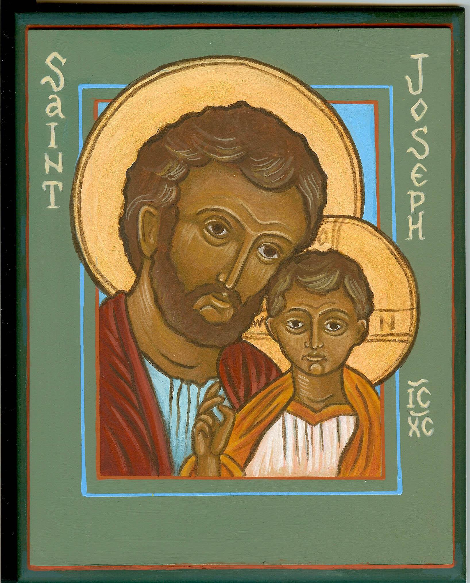 jesus and st joseph