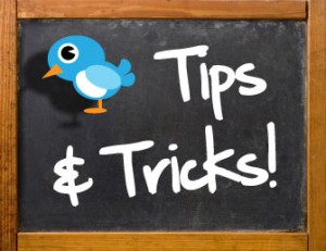 Twitter tips