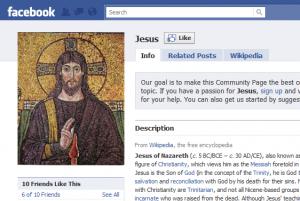 jesus facebook