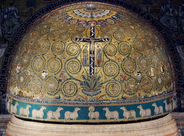 mosaic at san clemente roma