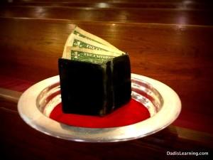 money in church