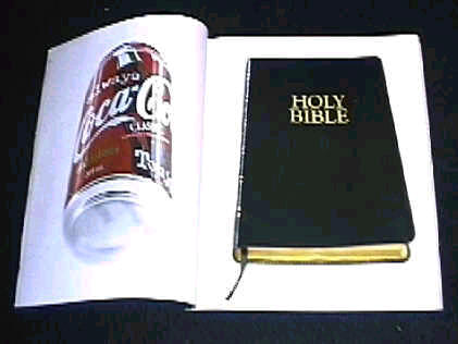 Coke and Bible