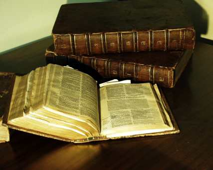 Bible and other books