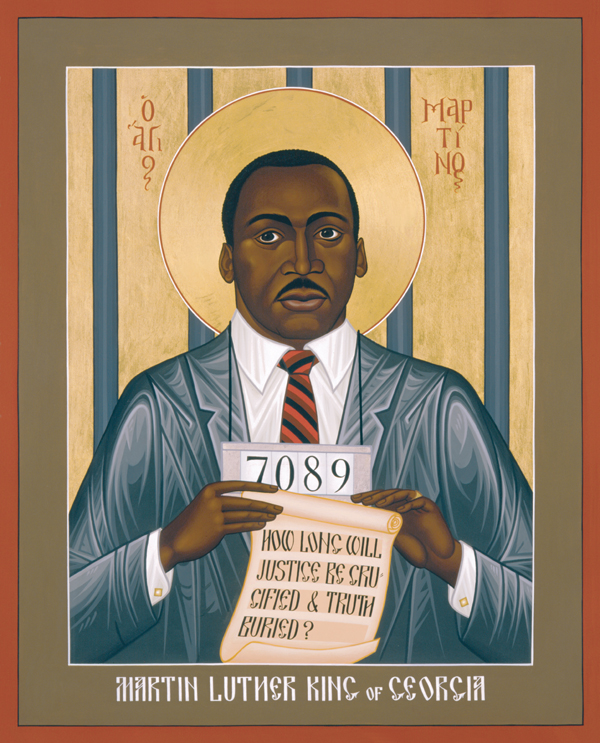 An icon of Blessed Martin Luther King, Jr.