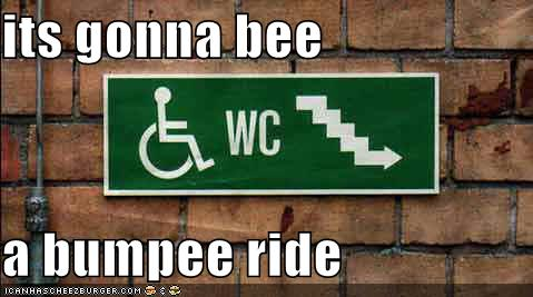 its gonna bee a bumpee ride