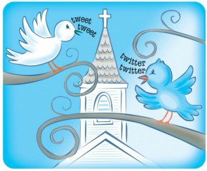 tweeting church