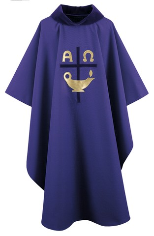 smiley chasuble