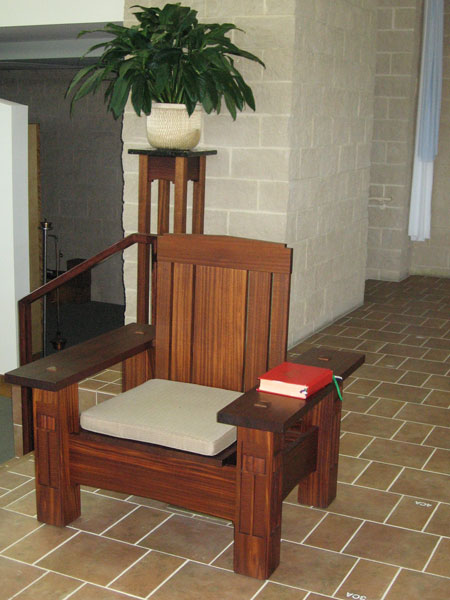 modern chair church