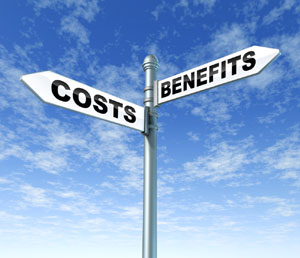benefits costs