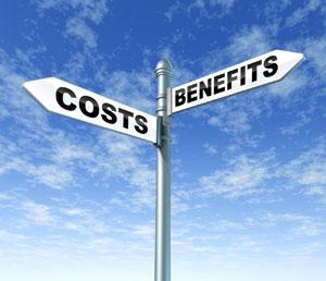 benefits costs
