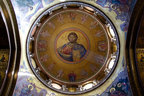 Dome in Church of the Holy Sepulchre