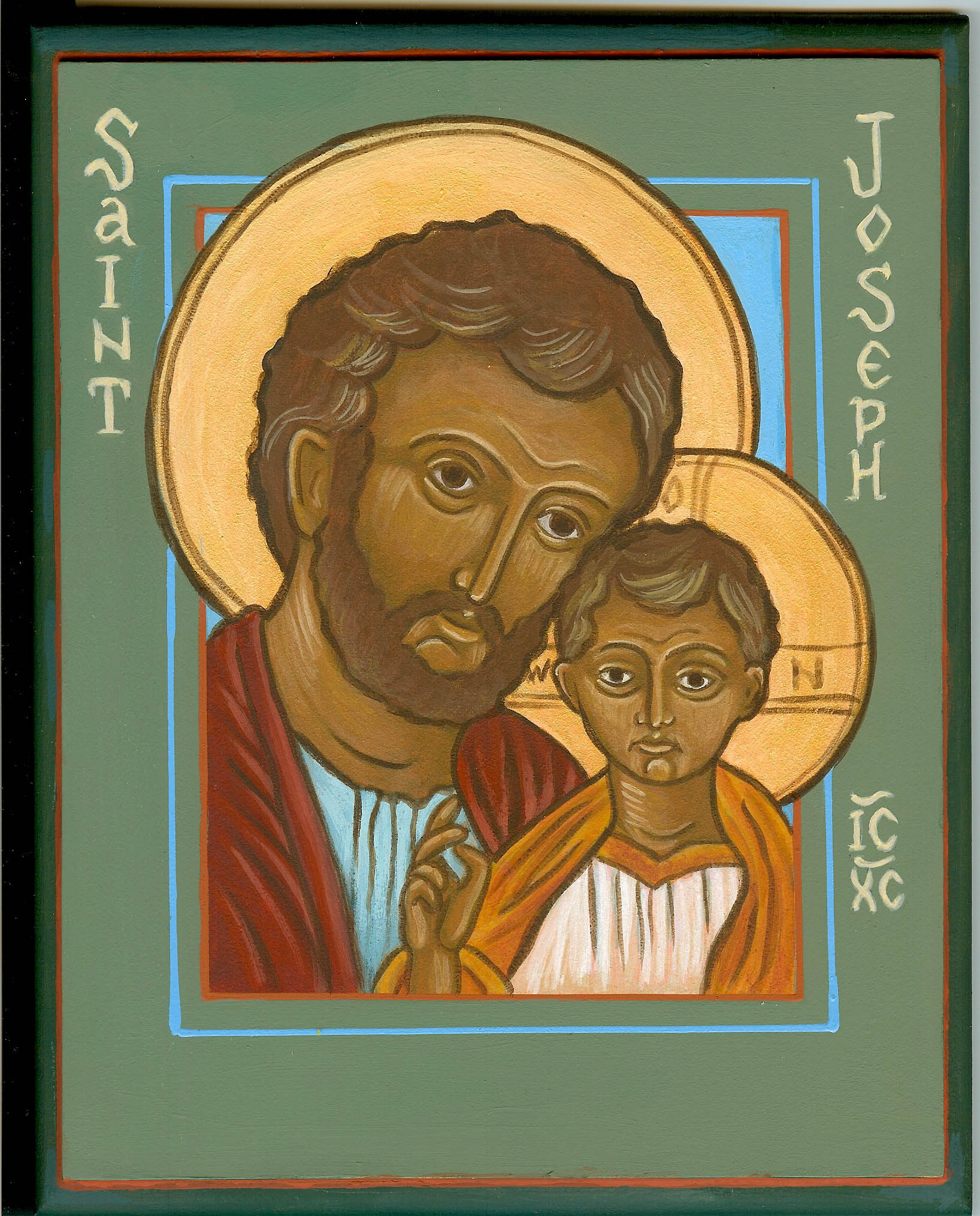 jesus and st joseph