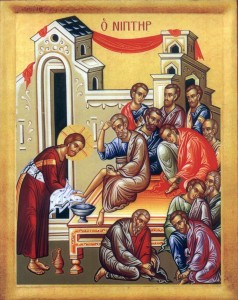 Christ Washing Feet