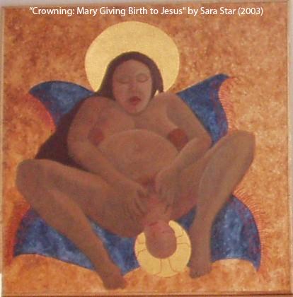 Jesus birth icon