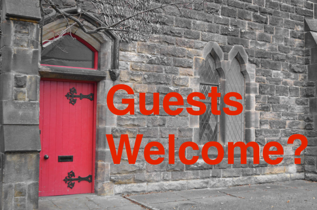 red door welcome & Getting your church building ready for guests \u2013 Seven whole days