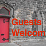 red door welcome