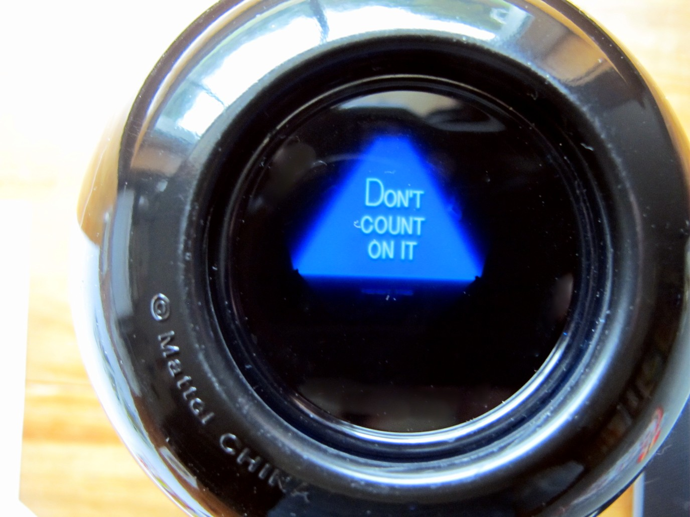 Magic 8 Ball No