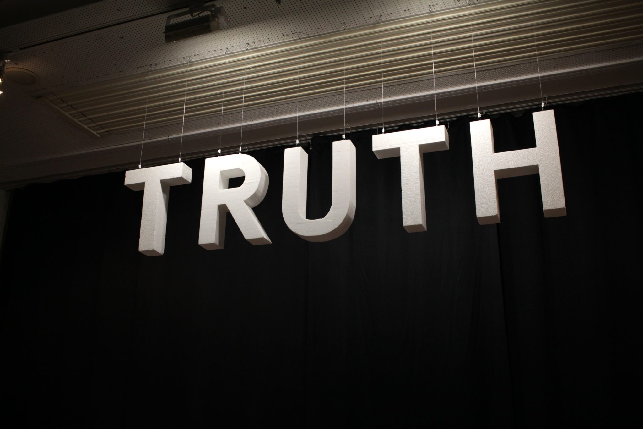 What is Truth? A reflection on the neglected reality of Truth with a capital T